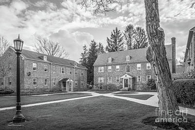 Elmira Ny Photograph - Elmira College The College Cottages by University Icons