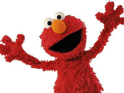 Photograph - Elmo by Sesame Street