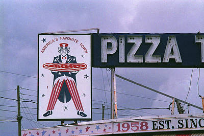 Photograph - Elmwood Park, Nj - Pizza Shop 2018 by Frank Romeo