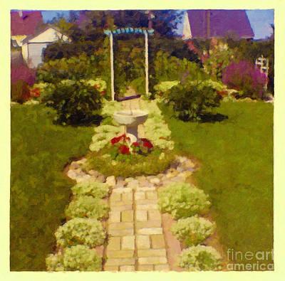 Photograph - Elna's Garden by Donna L Munro
