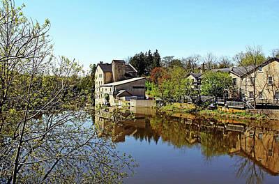 Photograph - Elora Mill Inn by Debbie Oppermann