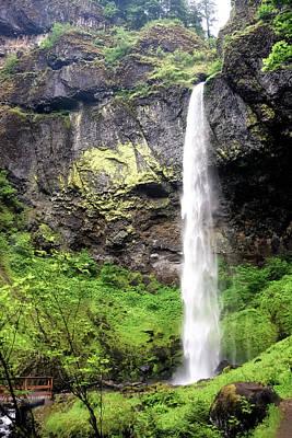 Photograph - Elowah Falls by Albert Seger