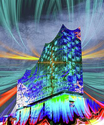 Hamburg Digital Art - Elphi Vi by Torsten Kuehnert