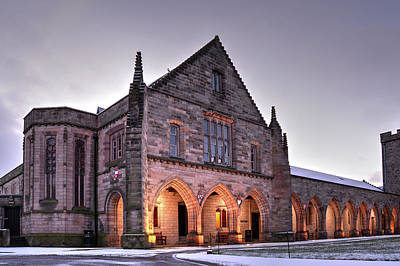Photograph - Elphinstone Hall - University Of Aberdeen by Veli Bariskan