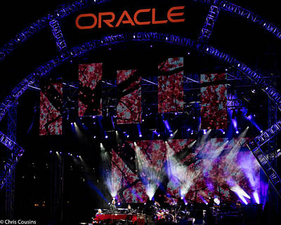 Photograph - Elton John At Oracle Open World In 2015 by Chris Cousins