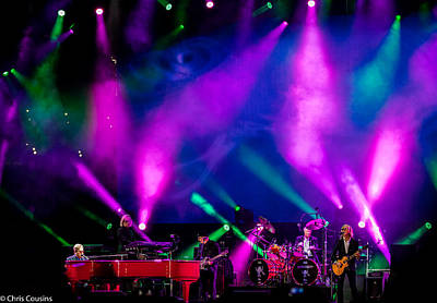 Photograph - Elton John In 2015 by Chris Cousins