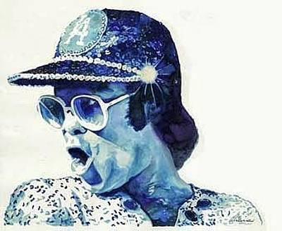 Elton John Painting - Elton John by Marcelo Neira