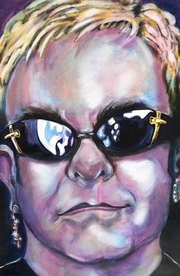 Elton John Painting - Elton John by Misty Smith