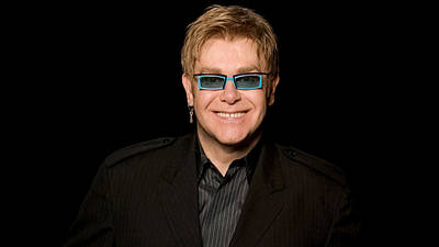 Elton John Wall Art - Digital Art - Elton John by Super Lovely