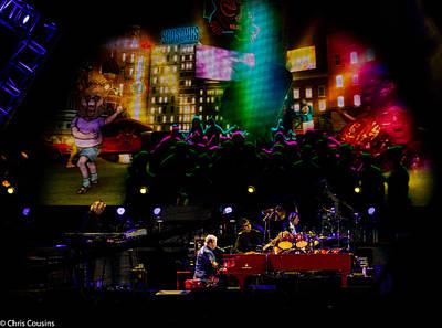 Photograph - Elton - Sad Songs by Chris Cousins
