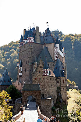 Photograph - Eltz Castle by Joerg Lingnau
