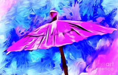 Colorful Contemporary Photograph - Elusive Rain by Krissy Katsimbras