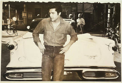 Photograph - Elvis 1957 by Donna Kennedy