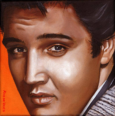 Elvis 24 1957 Art Print by Rob De Vries
