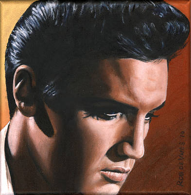 Elvis 24 1963 Art Print by Rob de Vries