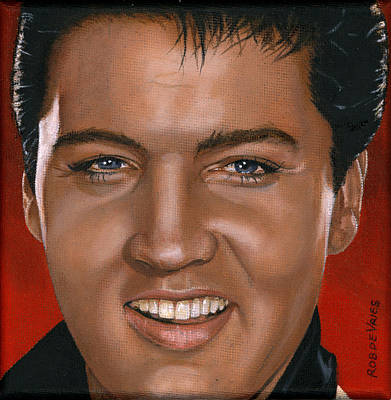 Elvis 24 1964 Art Print by Rob De Vries