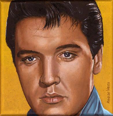 Elvis 24 1965 Art Print by Rob De Vries