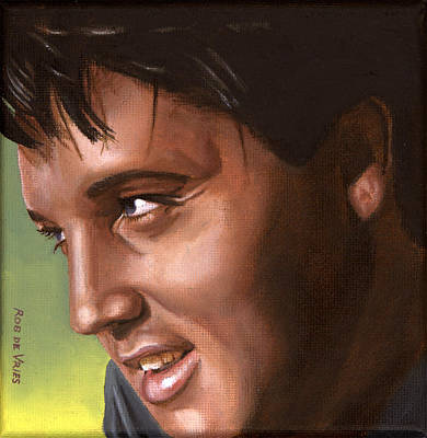 Elvis 24 1966 Art Print by Rob De Vries