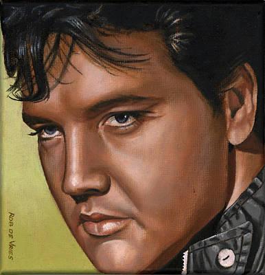 Elvis 24 1967 Art Print by Rob De Vries