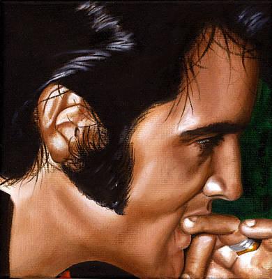 Elvis 24 1969 Art Print