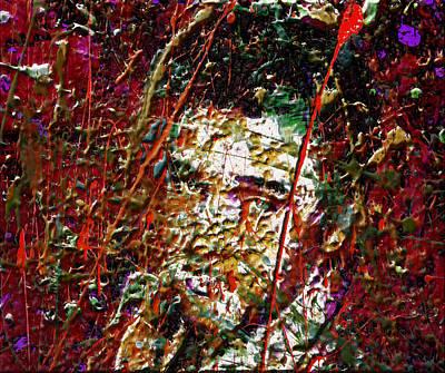 Memphis Artist Mixed Media - Elvis 4f by Brian Reaves