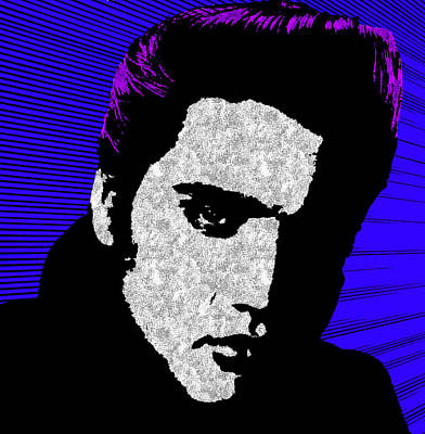 Elvis Photograph - Elvis 5 by Emme Pons