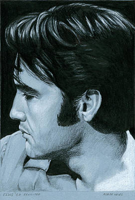 Elvis 68 Revisited Art Print
