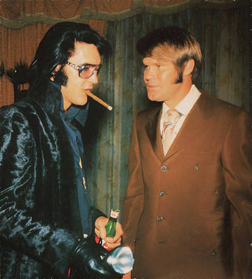 Photograph - Elvis And Glen by Donna Kennedy
