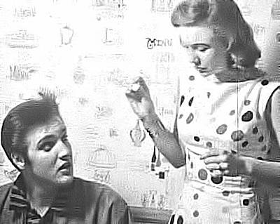 Photograph - Elvis And Joan by Chuck Staley