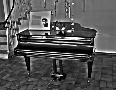 Photograph - Elvis And The Black Piano ... by Juergen Weiss