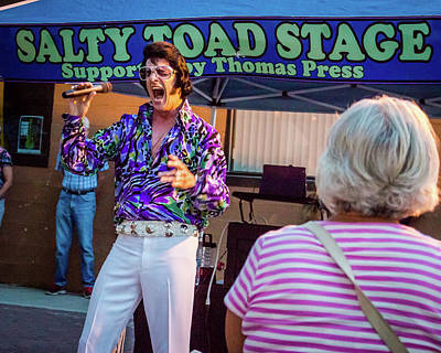 Photograph - Elvis At The Salty Toad by Jeanette Fellows
