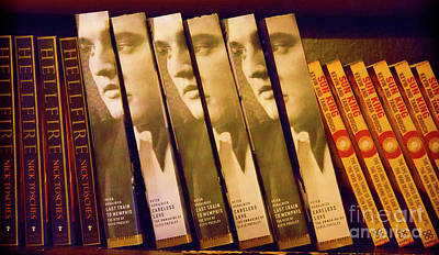 Nashville Tennessee Photograph - Elvis Book Display Sun Studio by Chuck Kuhn
