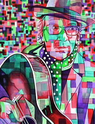 Elvis Costello Original by Joshua Morton