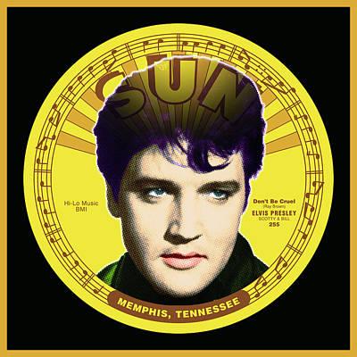 Digital Art - Elvis by Gary Grayson
