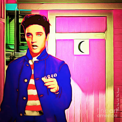 Photograph - Elvis Has Left The House 20151225 Square by Wingsdomain Art and Photography