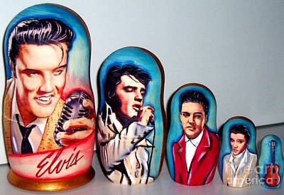 Elvis I Nesting Doll Original