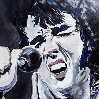 Elvis Is Alive Original by Paula   Baker