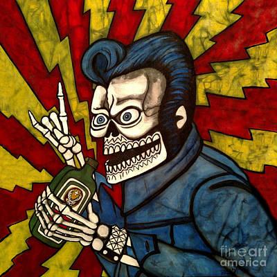 Painting - Elvis Jager by Brenda Kato