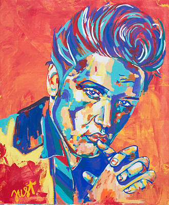 Painting - Elvis by Janice Westfall