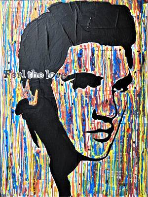 Mixed Media - Elvis by Kruti Shah