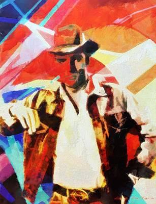 Painting - Elvis by Lelia DeMello