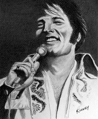 Elvis No. 8 Art Print by Jay Kinney
