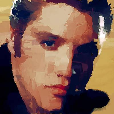 Digital Art - Elvis Portraiture by Yury Malkov