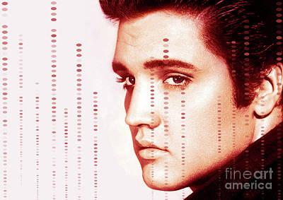 Actors Photograph - Elvis Preslely by Prar Kulasekara