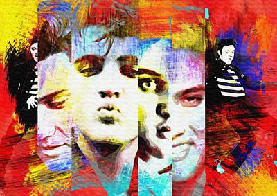 Elvis Painting - Elvis Presley 2 by Diana Van