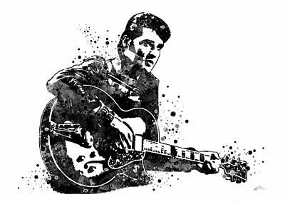 Elvis Presley Digital Art - Elvis Presley 2 by Svetla Tancheva