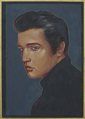 Painting - Elvis Presley by Jovana Kolic