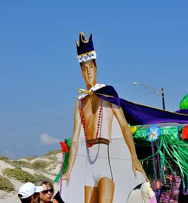 Photograph - Elvis Presley Goes To Mardi Gras by Kristina Deane