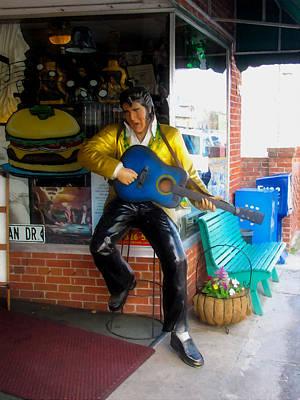 Swansboro Painting - Elvis Presley by Lanjee Chee