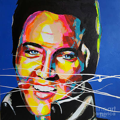 Painting - Elvis Presley by Marie-Armelle Borel